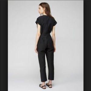 3ee53ad70ad Rachel Comey Glinda jumpsuit size 2 NWT black